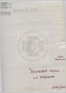 Bochenek Stefania