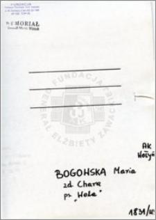 Bogowska Maria
