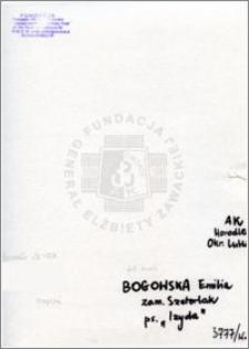 Bogowska Emilia