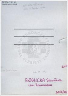 Bogucka Stanisława