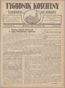 Tygodnik Kościelny Parafii św. Trójcy 1932.12.11 nr 50