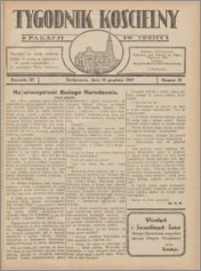Tygodnik Kościelny Parafii św. Trójcy 1932.12.25 nr 52