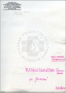 Bogusławska Teresa Maria