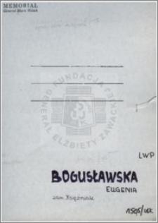 Bogusławska Eugenia