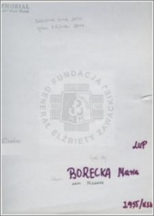 Borecka Maria