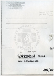 Borkowska Anna