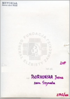 Borkowska Irena
