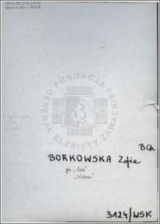 Borkowska Zofia