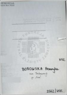 Borowska Henryka