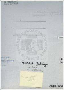 Boska Jadwiga