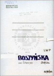 Boszyńska Zofia