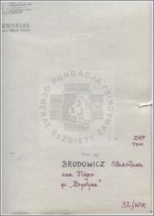 Brodowicz Stanisława