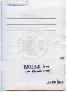 Brysiuk Irena