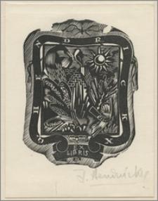 Ex libris G. Hendrickx