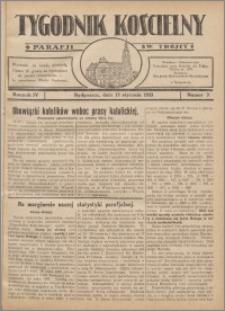 Tygodnik Kościelny Parafii św. Trójcy 1933.01.15 nr 3