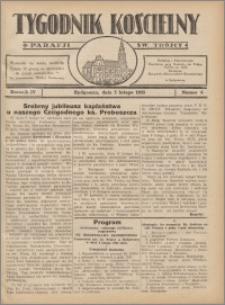 Tygodnik Kościelny Parafii św. Trójcy 1933.02.05 nr 6