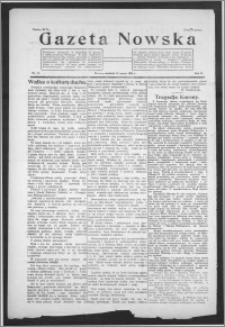 Gazeta Nowska 1925, R. 2, nr 11