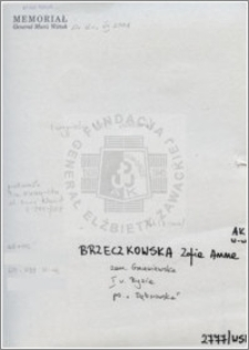 Brzeczkowska Zofia