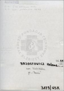 Brzostowicz Helena
