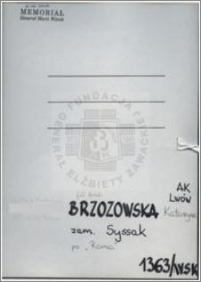 Brzozowska Katarzyna