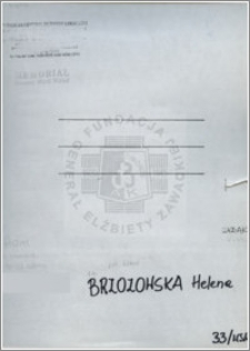 Brzozowska Helena