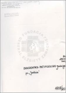 Brzozowska Matuszewska Jadwiga