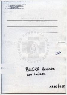 Bucka Weronika