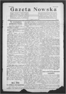 Gazeta Nowska 1926, R. 3, nr 3