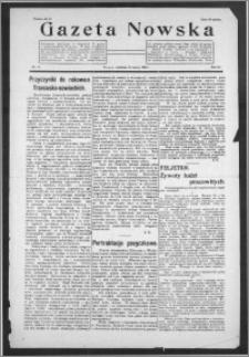 Gazeta Nowska 1926, R. 3, nr 11