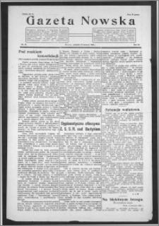 Gazeta Nowska 1926, R. 3, nr 16