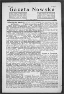 Gazeta Nowska 1926, R. 3, nr 19
