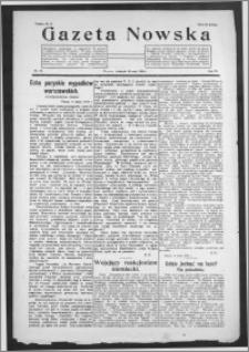 Gazeta Nowska 1926, R. 3, nr 22 + dodatek