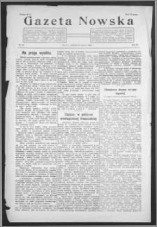 Gazeta Nowska 1926, R. 3, nr 25 + dodatek