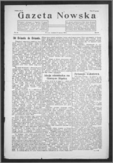 Gazeta Nowska 1926, R. 3, nr 26 + dodatek