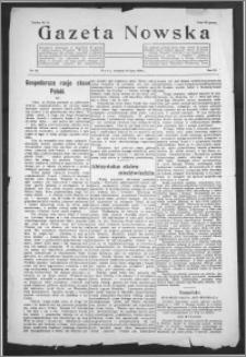 Gazeta Nowska 1926, R. 3, nr 29 + dodatek