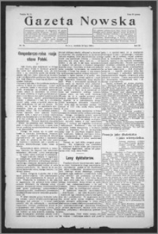 Gazeta Nowska 1926, R. 3, nr 30 + dodatek