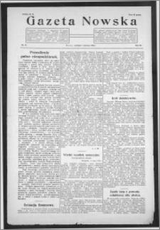 Gazeta Nowska 1926, R. 3, nr 31 + dodatek