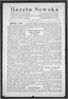 Gazeta Nowska 1926, R. 3, nr 32 + dodatek