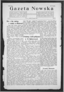 Gazeta Nowska 1926, R. 3, nr 34 + dodatek