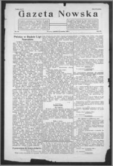 Gazeta Nowska 1926, R. 3, nr 39 + dodatek
