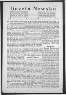 Gazeta Nowska 1926, R. 3, nr 46 + dodatek
