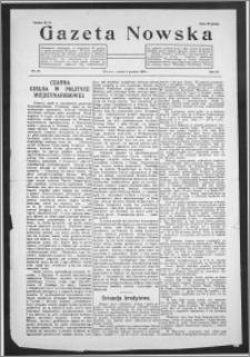 Gazeta Nowska 1926, R. 3, nr 49 + dodatek
