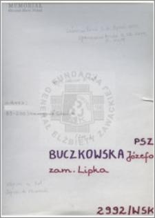 Buczkowska Józefa