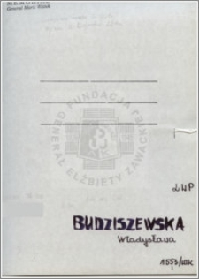 Budziszewska Władysława