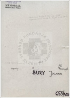 Bury Joanna