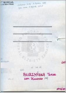 Burzyńska Teresa