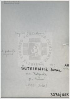Butkiewicz Irena
