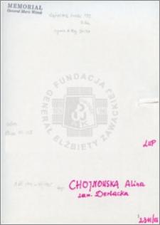 Chojnowska Alina