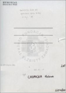 Chomicka Helena