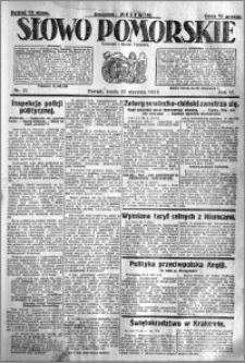 Słowo Pomorskie 1926.01.27 R.6 nr 21